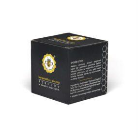 Perfumy wwosku pszczelim – BERGAMOTKA ZPACZULĄ – Miodowa Mydlarnia – 15 g