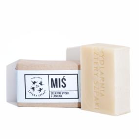 Delikatne mydło MIŚ ZLANOLINĄ – 4 Szpaki – 110 g