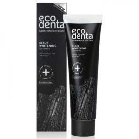 Pasta ekologiczna dozębów EXTRA BLACK WYBIELAJĄCA zwęglem drzewnym iTEAVIGO – Ecodenta – 100 ml