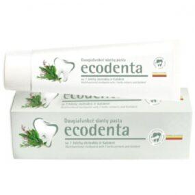 Pasta ekologiczna dozębów zekstraktami z7 ziół ibioaktywnym wapniem – Ecodenta