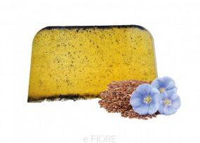 Szampon twardy naturalny ARGANOWY zolejem lnianym – e-Fiore – 100 g