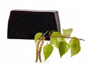 Szampon twardy naturalny DZIEGCIOWY zrozmarynem iglinką – e-Fiore