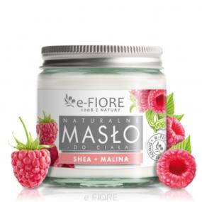 Masło dociała 100% Naturalne Shea Butter MALINOWE – e-Fiore – 120 ml