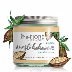 Masło dociała KAKAOWE Nierafinowane, zapach czekolady – e-Fiore – 120 ml