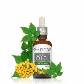 Olej zŻEŃ-SZENIA nabazie oleju ryżowego – e-Fiore – 50 ml
