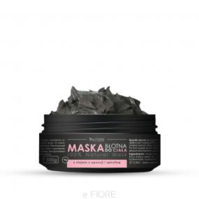 Maska BŁOTNA dociała zespiruliną, olejkiem zopuncji ikwasem HA – e-Fiore