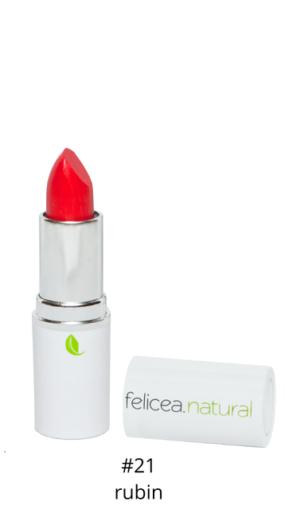 Naturalna szminka doust – 21 RUBIN – Felicea