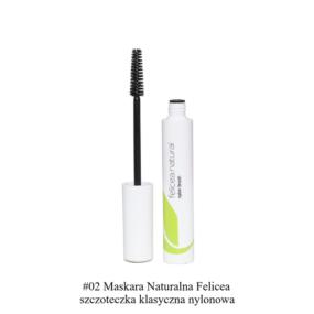 Naturalna MASKARA – szczoteczka klasyczna nylonowa – Felicea