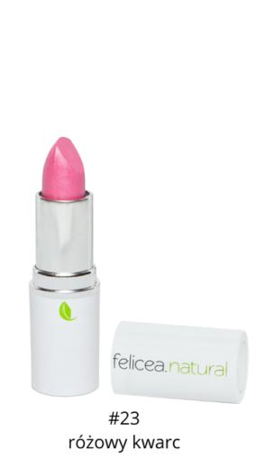 Naturalna szminka doust – 23 RÓŻOWY KWARC – Felicea