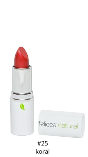 Naturalna szminka doust – 25 KORAL – Felicea