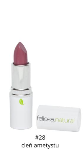 Naturalna szminka doust – 28 CIEŃ AMETYSTU – Felicea