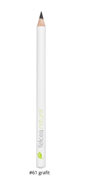 Naturalna kredka dooczu – 61 GRAFIT – Felicea – 1 g