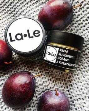 Krem ŚLIWKOWO – RÓŻANY zkoenzymem Q10 – La-Le – 60 ml