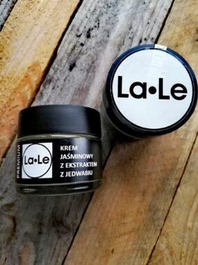Krem JAŚMINOWY zekstraktem zjedwabiu – La-Le – 60 ml