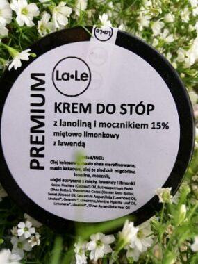 Krem dostóp zlanoliną, miętą imocznikiem – La-Le – 60 ml
