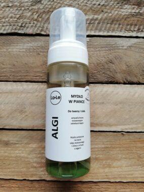 Mydło potasowe wpiance ALGI – La-Le – 150 ml