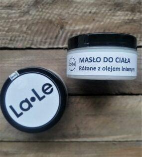 Masło dociała różane zolejem lnianym – La-Le – 100 ml