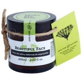 Krem dla skóry skłonnej dowyprysków – Beautiful Face – Make Me Bio