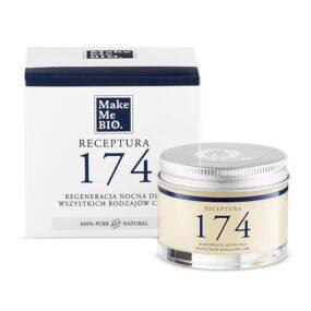 Receptura 174 REGENERACJA nocna dla wszystkich rodzajów cery – Make Me Bio – 50 ml