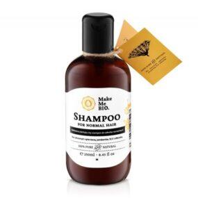 Delikatnie pieniący się szampon dowłosów normalnych – Make Me Bio