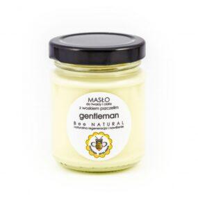 Masło dotwarzy iciała GENTLEMAN – Miodowa Mydlarnia – 135 ml