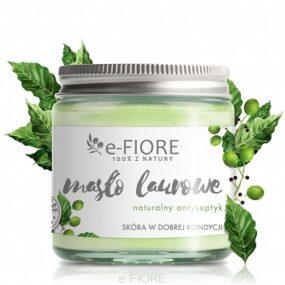 Masło dociała LAUROWE antyseptyczne naproblemy skórne – e-Fiore – 120 ml