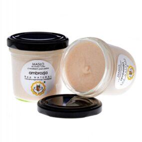 Masło dotwarzy iciała AMBROZJA – Miodowa Mydlarnia – 135 ml