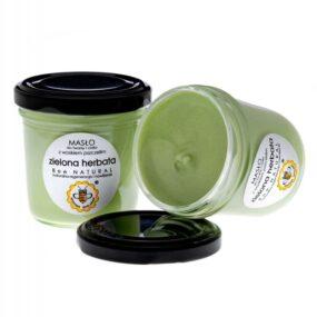 Masło dotwarzy iciała ZIELONA HERBATA – Miodowa Mydlarnia – 135 ml