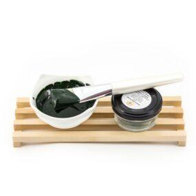 Maseczka dotwarzy idekoltu GREEN POWER – Miodowa Mydlarnia – 25 g