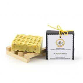 Mydło naturalne PLASTER MIODU – Miodowa Mydlarnia – 90 g