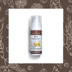 Bio Maska-Esencja ŻEŃSZEŃ KOREAŃSKI – Orientana – 50 ml