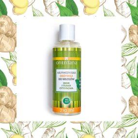Naturalna odżywka dowłosów Imbir iTrawa Cytrynowa – Orientana – 210 ml