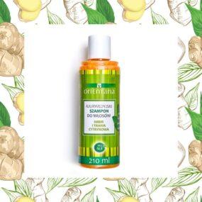Naturalny szampon dowłosów IMBIR ITRAWA CYTRYNOWA – Orientana – 210 ml