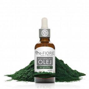 Olej zzielonych ALG SPIRULINA – e-Fiore – 50 ml