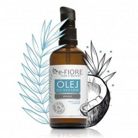 Olejek dowłosów MONOI 100% naturalna regeneracja iblask – e-Fiore – 100 ml