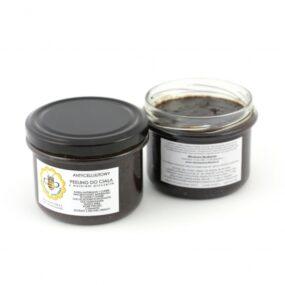 Peeling antycellulitowy – KAWOWY ZWOSKIEM PSZCZELIM – Miodowa Mydlarnia – 200 g