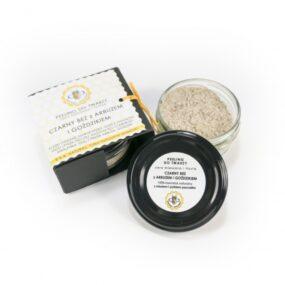 Peeling dotwarzy – CZARNY BEZzARBUZEM iGOŹDZIKIEM – Miodowa Mydlarnia – 25 g