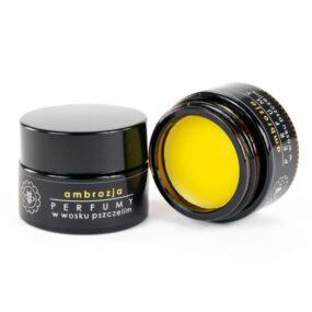 Perfumy wwosku pszczelim – AMBROZJA – Miodowa Mydlarnia – 15 g – termin ważności 05.2021