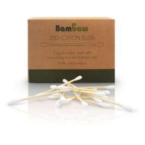 Bambusowe patyczki kosmetyczne 200 szt. – Bambaw