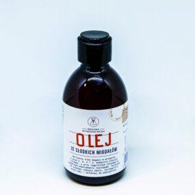Olej zeSŁODKICH MIGDAŁÓW – Bydgoska Wytwórnia Mydła – 250 ml