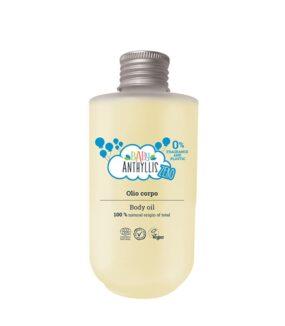 Olejek dociała dla dzieci, bezzapachowy, naturalne prebiotyki, szklane opakowanie ZERO WASTE – Baby Anthyllis – 125 ml