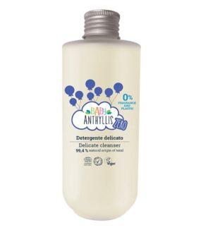 Mydło wpłynie dla dzieci, bezzapachowe, naturalne prebiotyki, szklane opakowanie ZERO WASTE – Baby Anthyllis – 200 ml