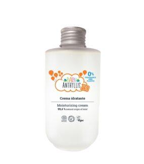 Krem nawilżający dla dzieci, bezzapachowy, naturalne prebiotyki, szklane opakowanie ZERO WASTE – Baby Anthyllis – 125 ml
