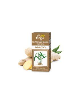 Olejek eteryczny IMBIROWY – Etja – 10 ml