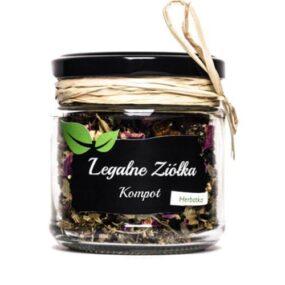 Herbata – Mieszanka KOMPOT – Legalne Ziółka – 50 g
