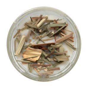 Świeca sojowa – TRAWA CYTRYNOWA – Legalne Ziółka – 170 ml