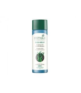 Szampon oczyszczająco pobudzający wzrost włosów zsolą morską iolejkiem miętowym – Biotique – 190 ml