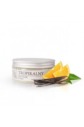 Peeling solny dociała TROPIKALNY – Fresh&Natural – 250 ml