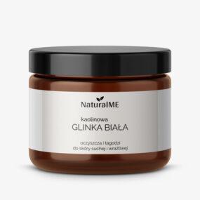 Glinka biała kaolinowa – NaturalMe – 200 ml