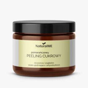 Peeling cukrowy POMARAŃCZOWY – NaturalMe – 200 ml
